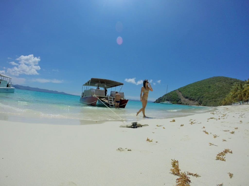 A calm day at White Bay, Jost Van Dyke