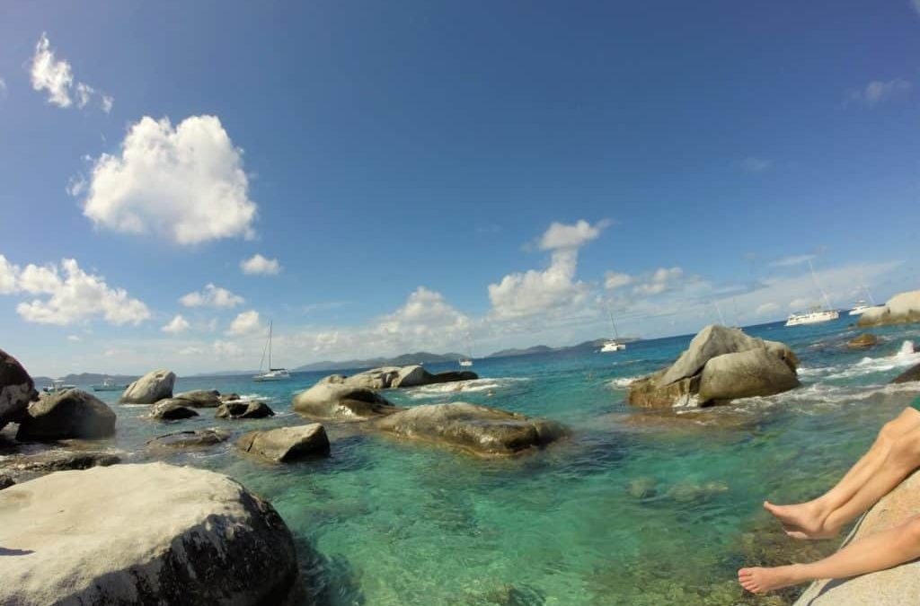 The Baths, Virgin Gorda with Soul Mate