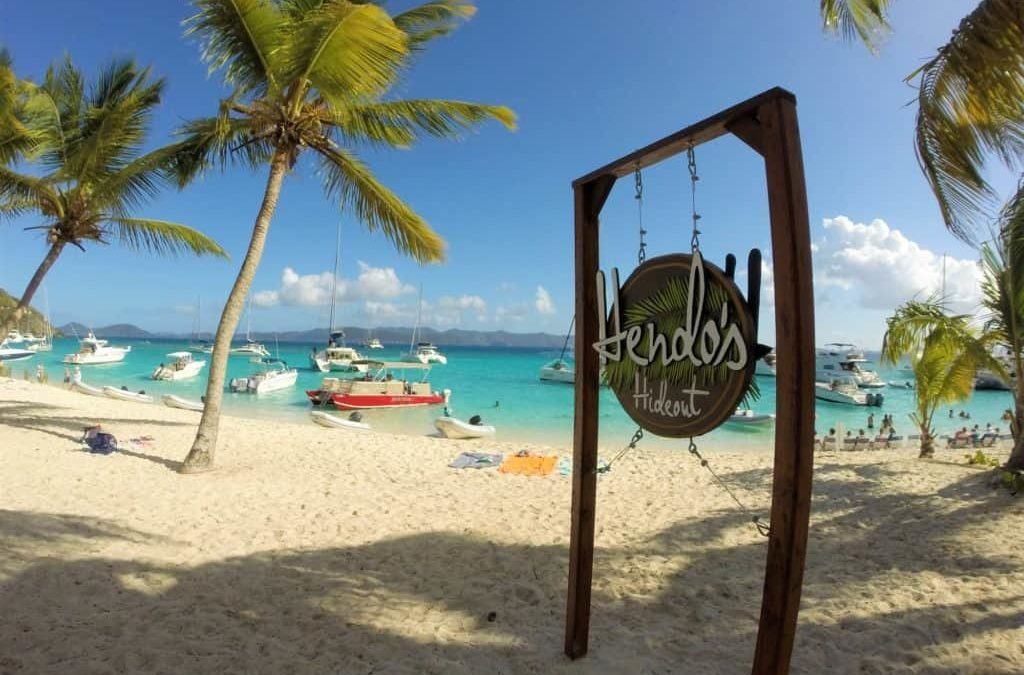 White Bay, Jost Van Dyke now has Hendo's!