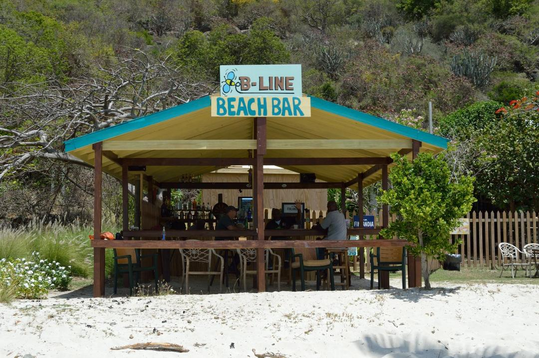 The newest addition to BVI beach bars.